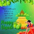 My Happy Ugadi Card.