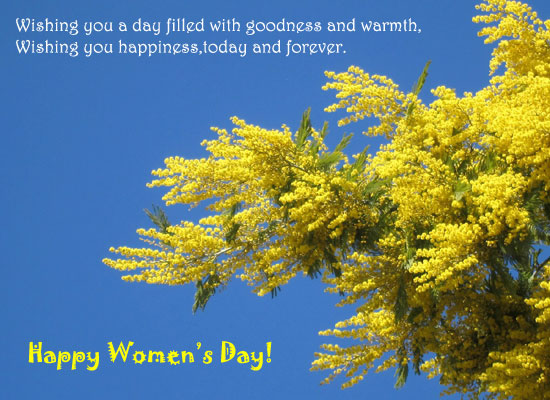 Have A Happy Women's Day!