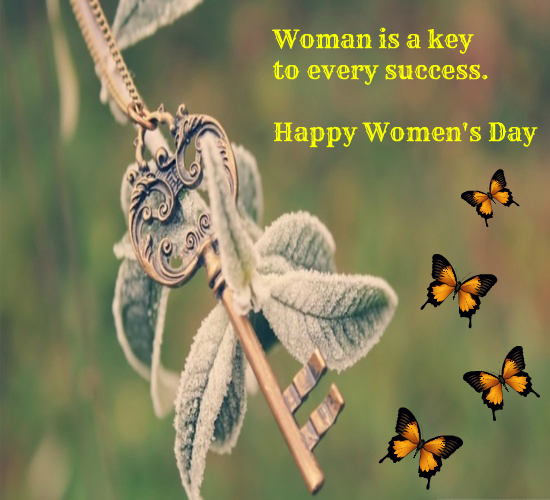 Woman Is A Key To Every...