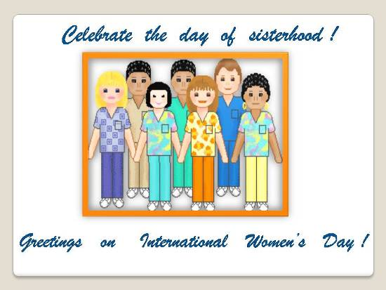 Greetings On Womens' Day.
