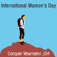 International Women's Day , Mountain
