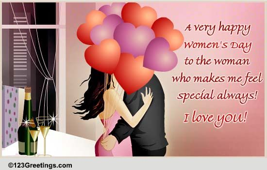 For Your Wife On Women's Day! Free Love eCards, Greeting ...