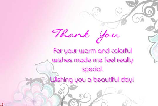 thanks for your warm  u0026 colorful wishes    free thank you