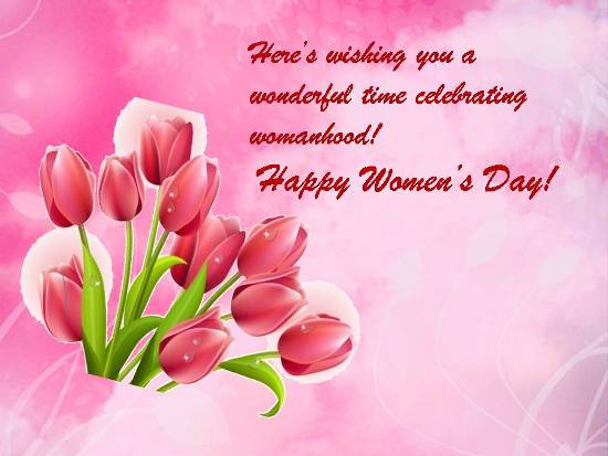 Greetings On Women's Day.