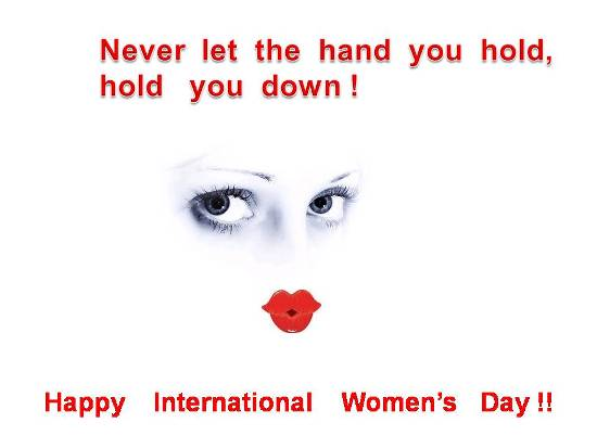 Delightful Greetings On Women's Day.