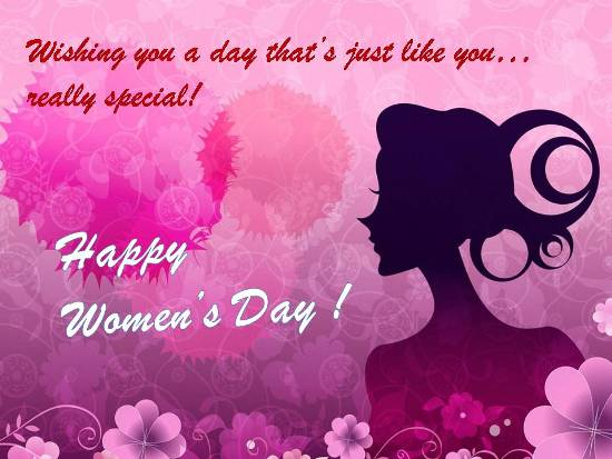 Celebrate The Joy Of Women's Day.