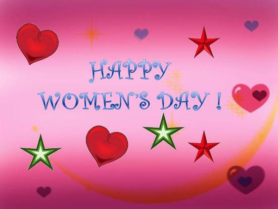 Share Your Joy  On Women's Day.