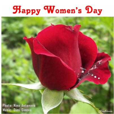 Happy Women's Day With Music.