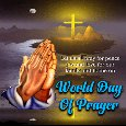 A World Day Of Prayer Card For You.