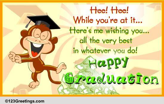 Li L Game For Ya Free Happy Graduation Ecards Greeting