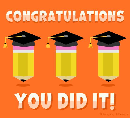 Congrats Grad Pencil.