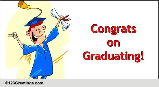 Congrats On Graduating! Free Congratulations eCards ... | 550 x 300 jpeg 23kB