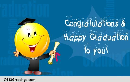 Congratulations And Happy Graduation! Free Congratulations ... | 550 x 350 jpeg 26kB