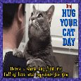 Home : Events : Hug Your Cat Day 2018 [Jun 4] - Here's A Hug From Me.