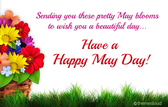 Happy May Day Ecard