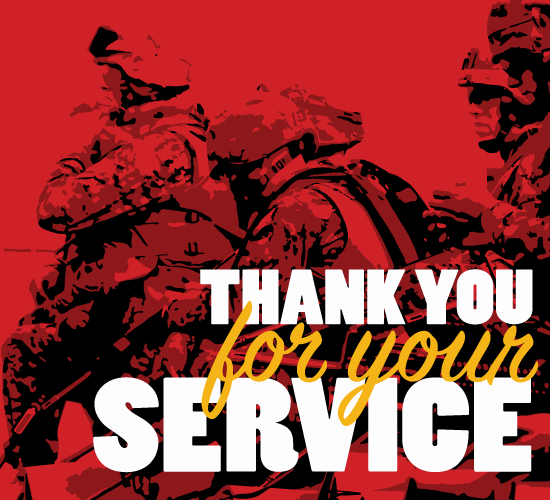 Thank You For Your Marines Service.