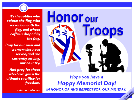 Honor Our Troups.