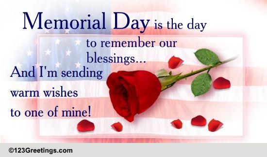 Memorial day wishes cards free memorial day wishes 123 greetings m4hsunfo