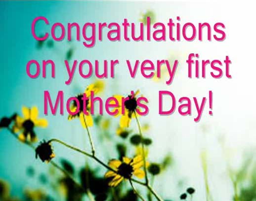 congratulations on 1st mother u2019s day  free first mother u0026 39 s