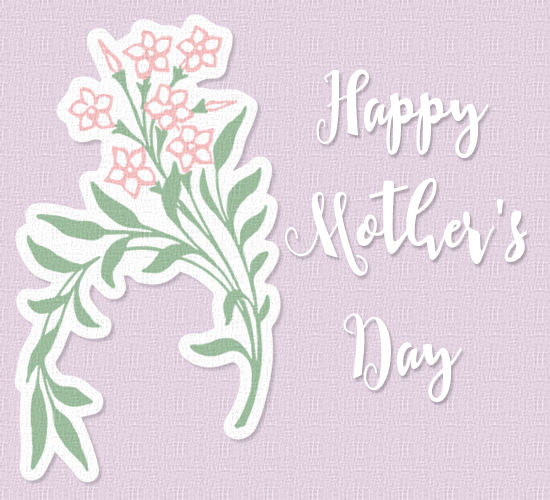 Mother S Day Pink Flowers Free Flowers Ecards Greeting