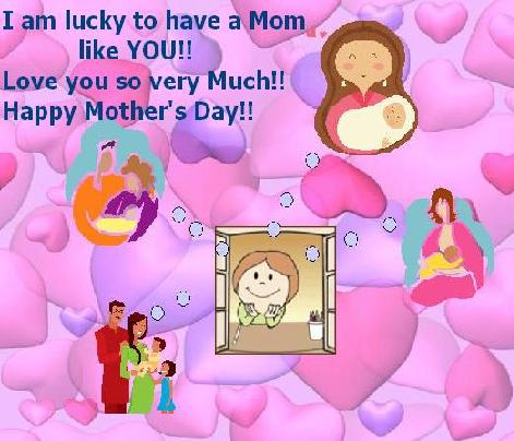 Wish Mom A Very Happy Mother's Day!
