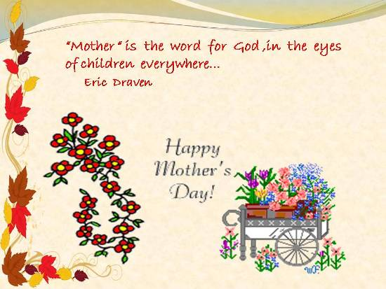 Warm Greetings On Mothers Day.