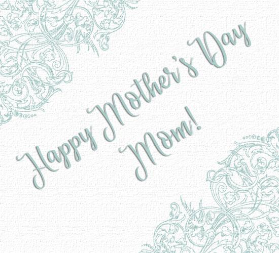 Mother's Day Pretty Swirls.