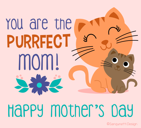 Purrfect Mom!