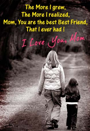 Cool Mom Is My Best Friend Free Happy Mothers Day Ecards Personalised Birthday Cards Veneteletsinfo