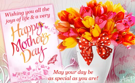 Special Woman, Wonderful Mother! Free Happy Mother's Day eCards