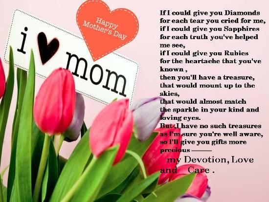 Heartfelt Thoughts For My Dearest Mom.
