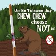 Home : Events : No Tobacco Day 2020 [May 31] - Chew, Chew, Choose To Butt Out!