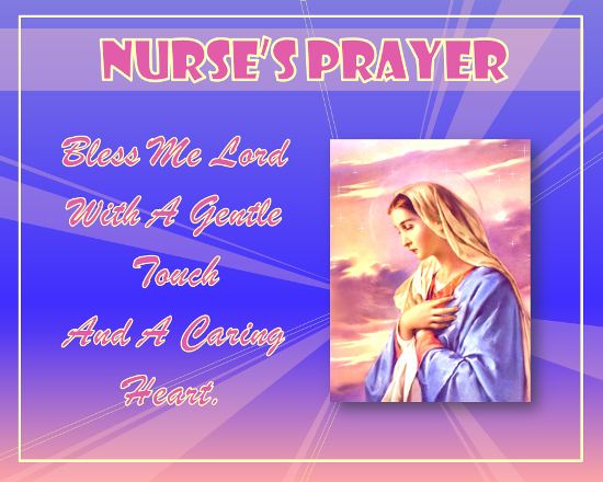 Nurse'S Prayer.