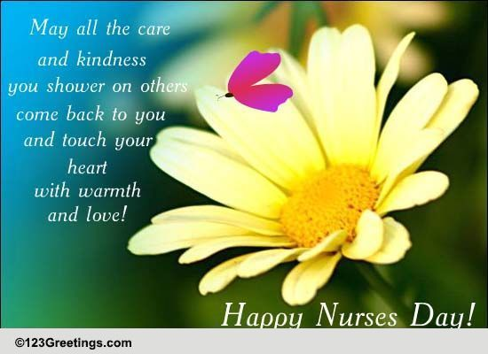 Nurses day warm wish free nurses day ecards greeting cards 123 free nurses day ecards greeting cards 123 greetings m4hsunfo