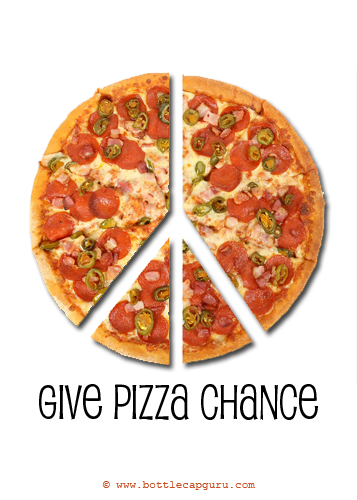 give pizza chance  free pizza party day ecards  greeting