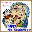 Visit Your Relatives Day Card...