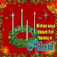 First Sunday Of Advent.
