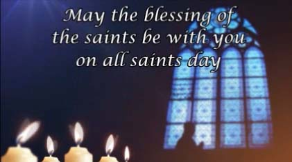 may the blessing free all saints day ecards greeting