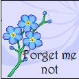 Forget Me Not Friend!