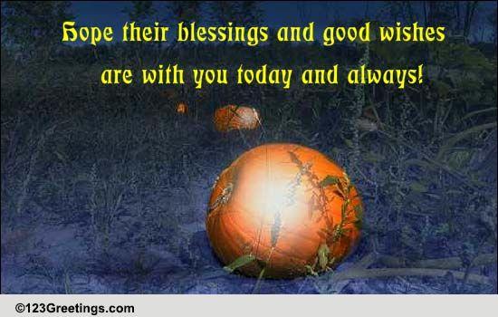 Ancestors blessings good wishes free samhain ecards 123 greetings m4hsunfo