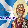A Warm Wish Card On St. Andrew's Day.