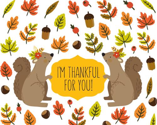 Send Thanksgiving Greetings!