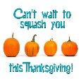 """""""Squash-y"""" Thanksgiving Hugs!"""