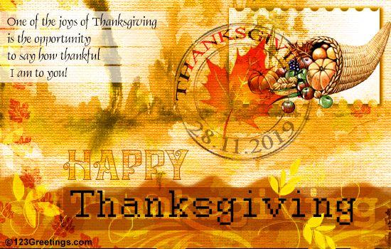 Joys Of Thanksgiving...