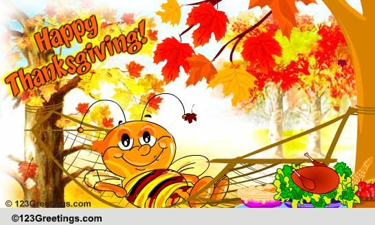 Relax! Enjoy Thanksgiving! Free Business Greetings eCards ...