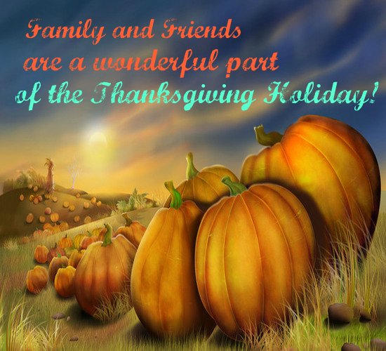 Best Thanksgiving Quotes For Friends: Thanksgiving For Friends And Family. Free Friends ECards