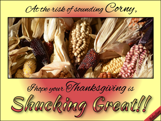 Corny Thanksgiving.