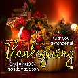 Wish You A Wonderful Thanksgiving.