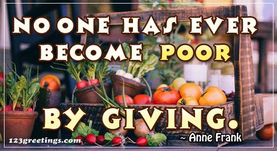 Thanksgiving Truth!
