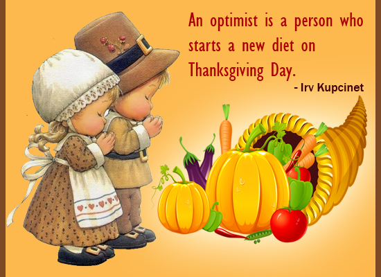 An Optimist Person Starts New Diet...